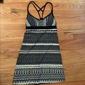 Athleta Woman's Black and White Swim Dress size S.